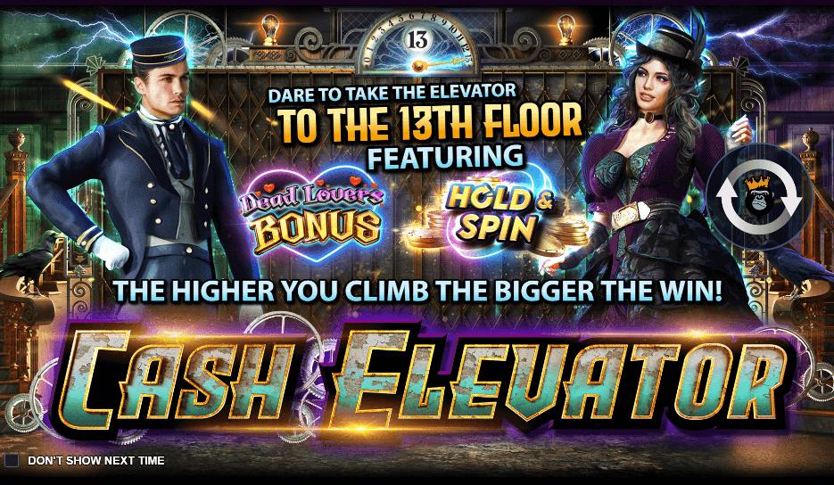 Cash Elevator at Queenplay